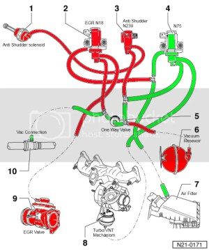 PD vac line simplification (N18  N239 valve delete)  DIY Guides and How to Instructions  uk