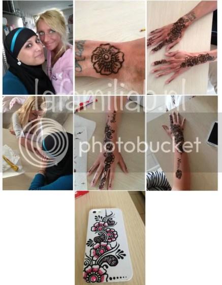 mooie henna door Farah