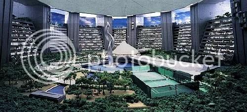 Sky City 1000: Megarascacielos de Tokyo by l3utterfish