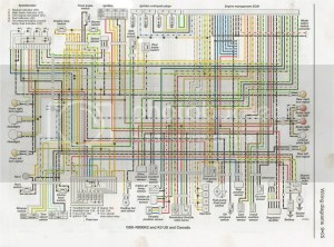 Y2K bike wiring diagrams  Suzuki GSXR Motorcycle Forums