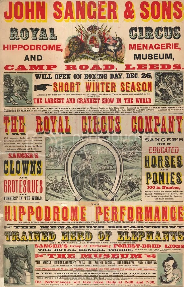 Circus Playbill