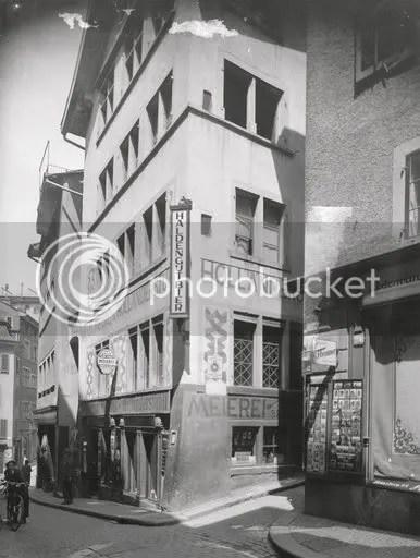 Cabaret Voltaire, Zürich, 1935