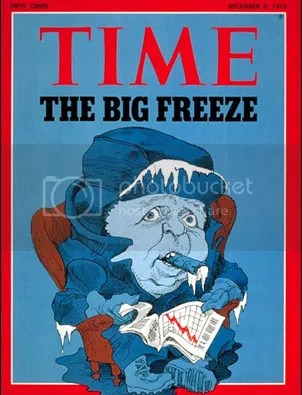 Time Cover on Global Cooling in the 1970's
