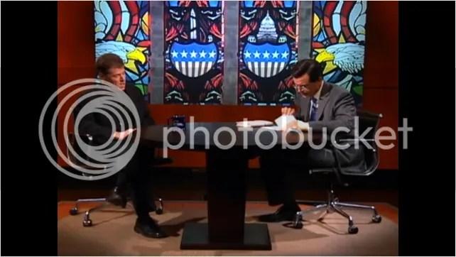 Andrew Keen on Colbert