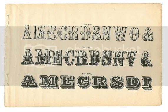 Old West Typefaces