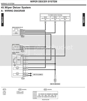 ('03'05) Heated Windshield Wiring Location  Subaru Forester Owners Forum
