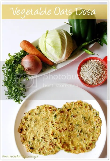 Vegetable oats pancakes2