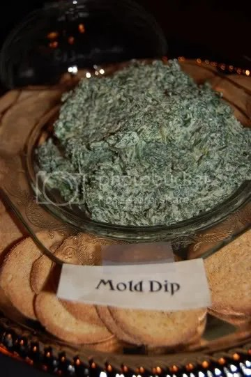 Mold Dip and Dried Skin Flakes