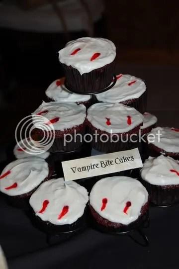 Vampire Bite Cakes