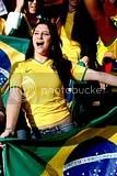 Brazil vs. Italy Soccer babes