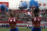 Paraguay Soccer Cheerleaders
