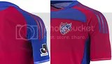 FC Tokyo adidas 2010 Home and Away Jerseys