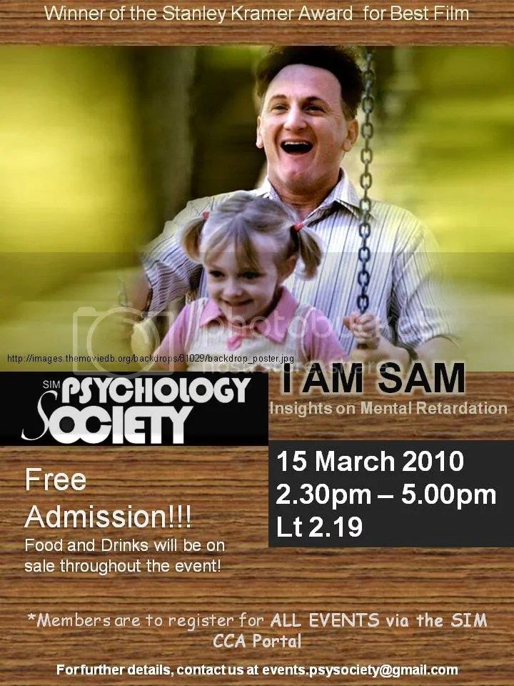 "i am sam psychology I am sam february 11, 2011 spa 3471 editor: stephanie drouillard description of the character with the language impairment contributor: nicholas gopaul ""i want no."