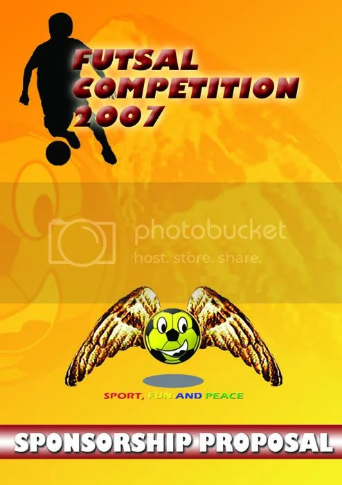 cover proposal futsal competition 2007 Pondok Kelapa