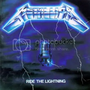 #4 Metallica--Ride the Lightning
