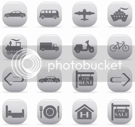 Free Vector Icons - Art VectorsTransportation & Travel Icons