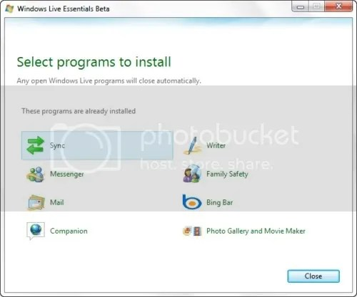 Windows Live Essentials Wave 4