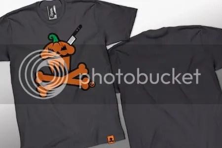 Johnny Cupcakes, pumpkin, Halloween, logo