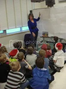 Susan Forest teaches grade three students at Chaparral Elementary School, December 2011