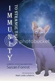 Cover art for Immunity to Strange Tales