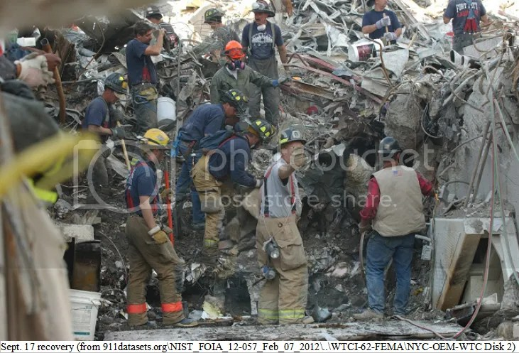 Sept. 17 recovery at Ground Zero