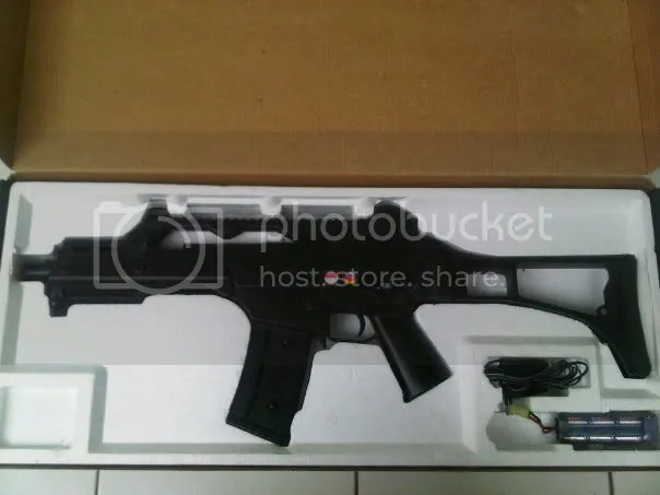 Jual Airsoft second JG G36C
