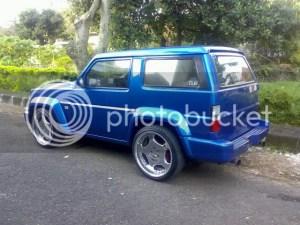 Modifikasi Mobil Jeep Feroza  INFO DAN TIPS