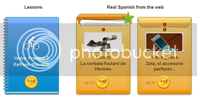 Duolingo - Skills
