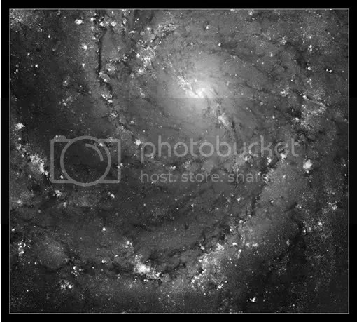 Galaxy M101 from the Hubble Space Telescope