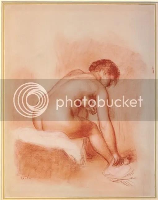Renoir: Woman drying her foot (BM 1968,0210.23)