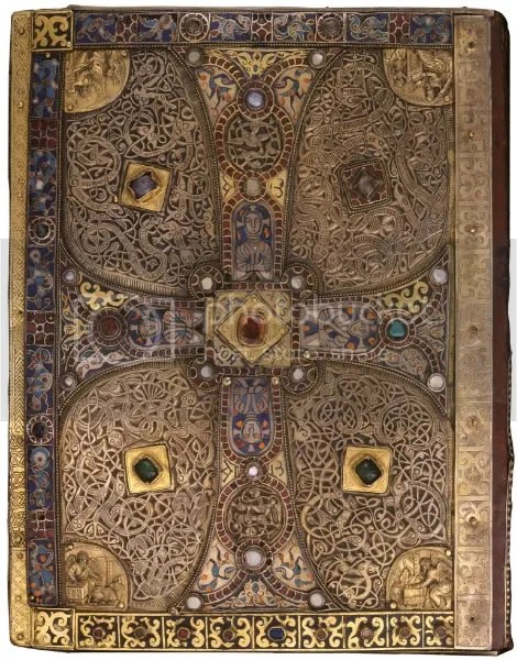 Lindau Gospels, back cover