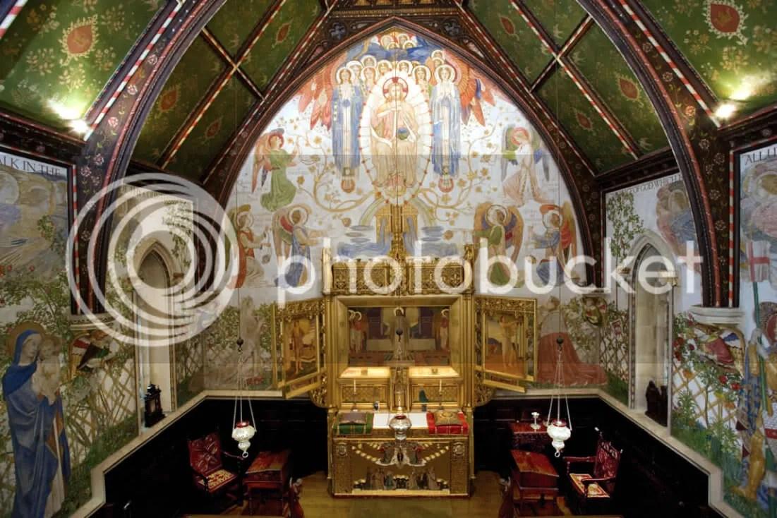 Madresfield Court chapel