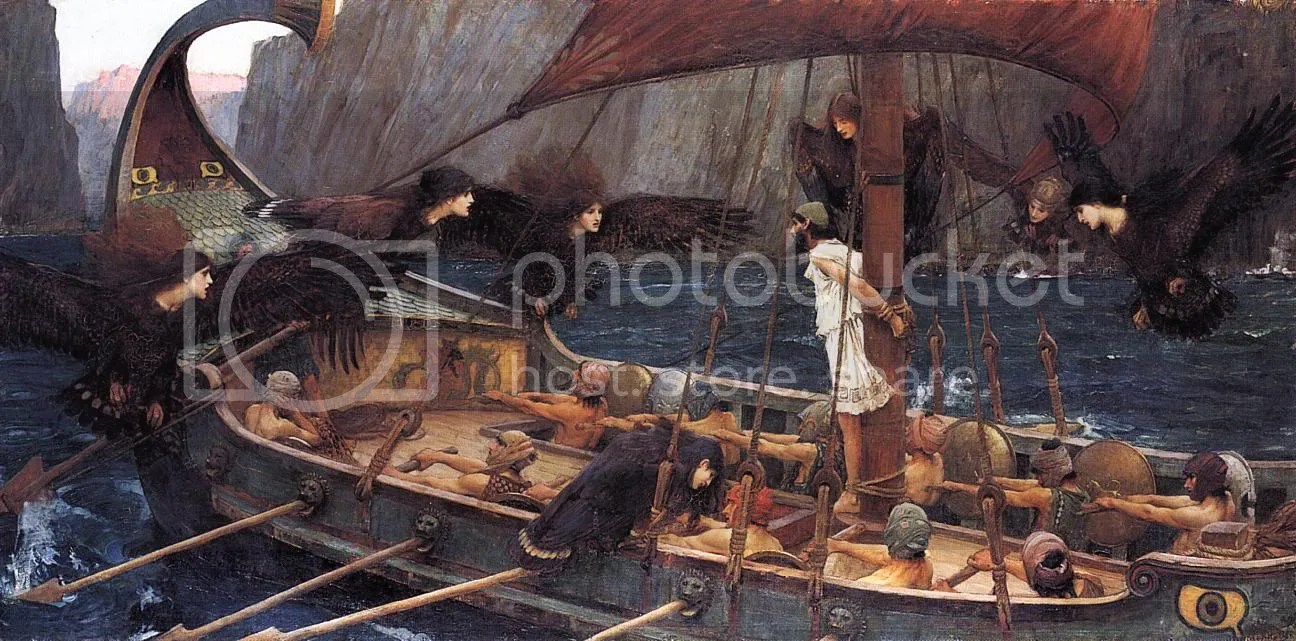 John Williams Waterhouse: Ulysses and the Sirens