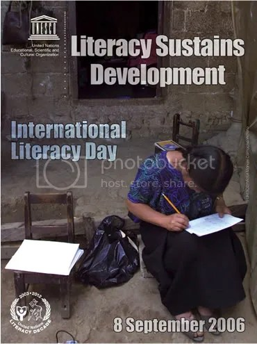 UNESCO International Literacy Day 2006