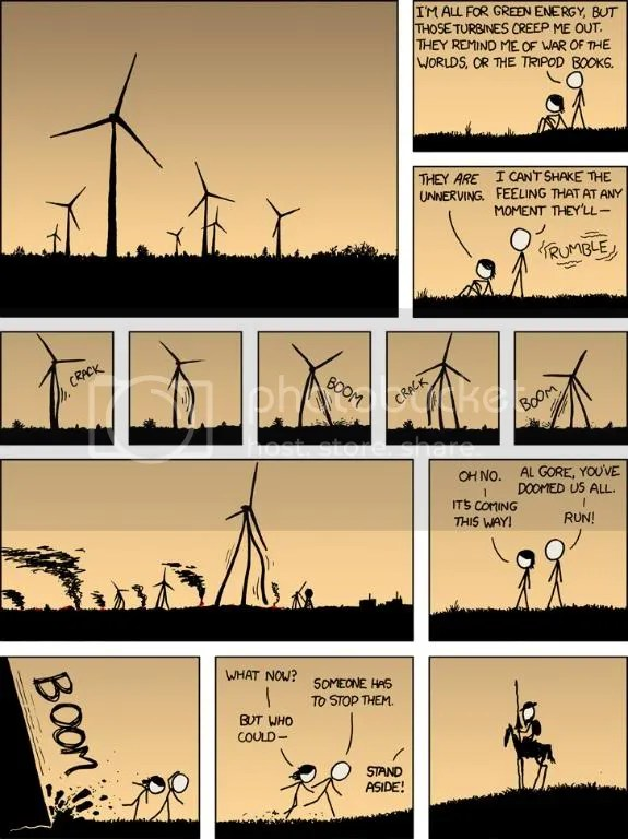 XKCD: Alternative Energey Revolution