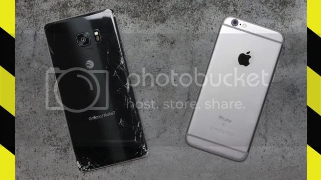 note 7 vs iPhone 6S