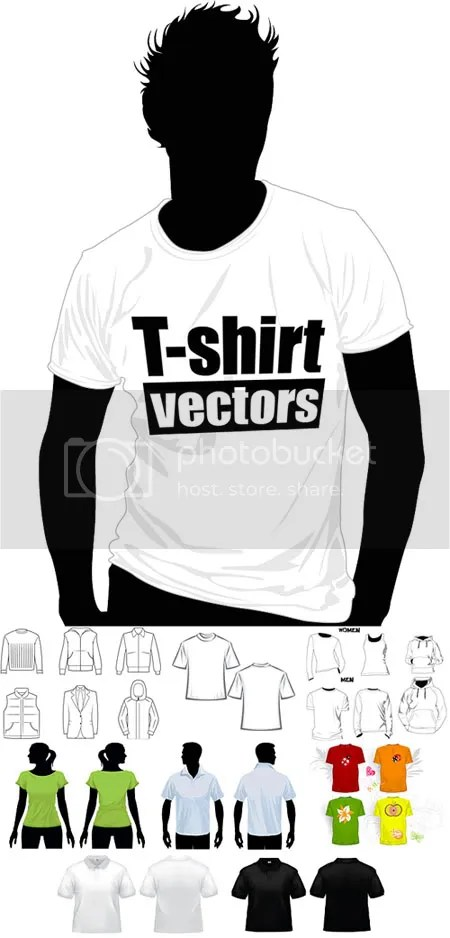 T-shirt vectors sharegraphic.com