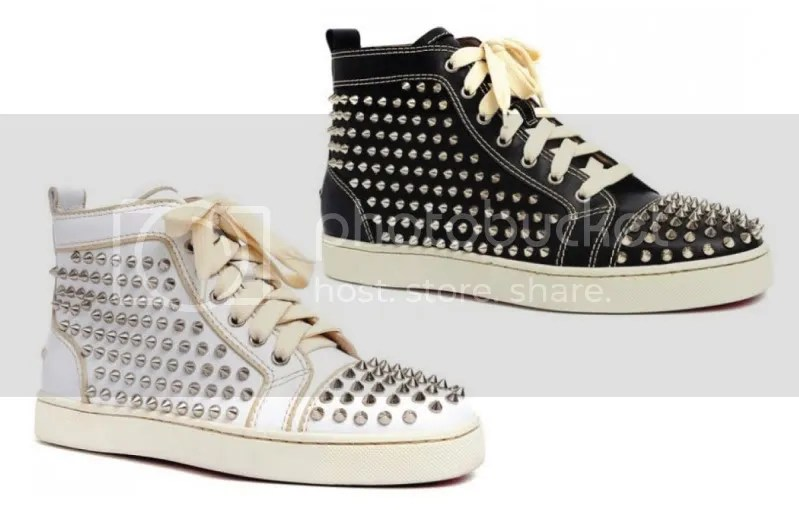 Christian Louboutin Studded Sneakers Spring 2010 @ StreetStylista.Guy