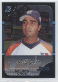 2005 Bowman Chrome #165 Nelson Cruz Futures Game RC