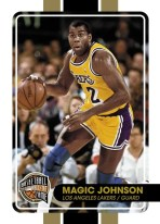 09-10 Panini Hall of Fame Magic Johnson Base Card