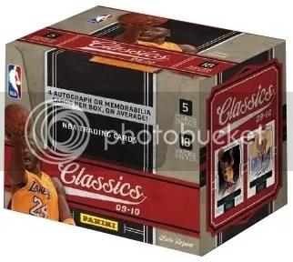 09/10 Panini Classics Basketball Hobby Box