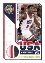 09/10 Panini Hall of Fame Patrick Ewing Team USA Jersey