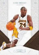 09/10 Panini Timeless Treasures Kobe Bryant Base Card