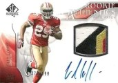 2009 Sp Authentic Glen Coffee Patch Auto RC