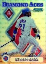 1999 Bowman Chrome Diamond Aces Sammy Sosa Refractor