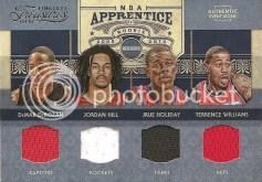 2009/10 Panini Timeless Treasures NBA Appretice Quad
