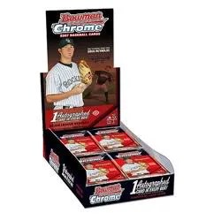 2007 Bowman Chrome Baseball Box