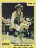 1985 Star Schick Legends Pete Maravich