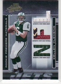 Kellen Clemens 2006 Playoff Absolute Memorabilia RC #274