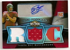 Josh Freeman 2009 Topps Triple Threads RC